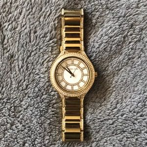Women's MICHAEL KORS GOLD WATCH WITH CRYSTALS